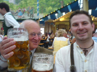 Wiesn 2006 - Opa - Christoph